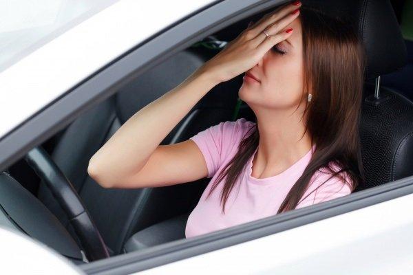ความผิดปกติของรถยนต์